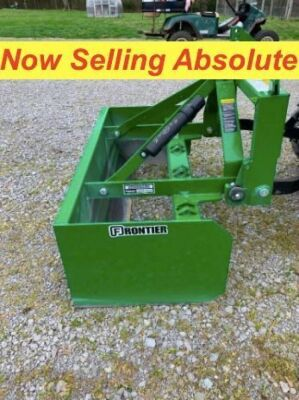 NOW SELLING ABSOLUTE - Frontier BB5048L 48 Inch Box Blade