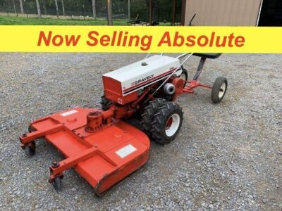 NOW SELLING ABSOLUTE - Gravely 546 2-Wheel Convertible Tractor with 40in. Finish Mower