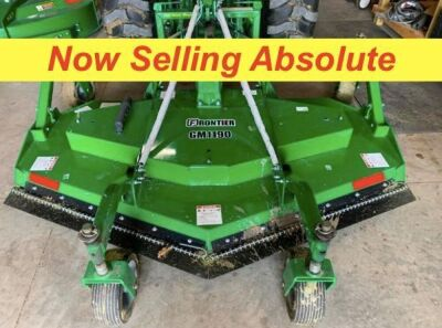 NOW SELLING ABSOLUTE - Frontier GM1190 Grooming Mower - 90 Inch Cutting Width