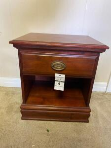 Johnston/ Tom Bigbee Furniture Wooden Night Stand