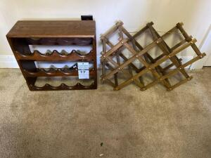 Wooden Wine Rack and Folding Wine Rack
