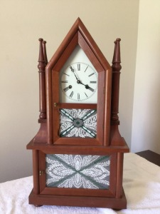 Decorative mantle  clock key wind - chime