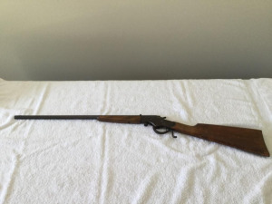 Antique J. Stevens arms Co. 22 long rifle - single shot leaver action - excellent condition