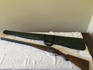 Antique Remington Arms double barrel 12 gauge  - excellent condition with carry case