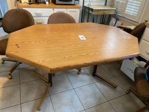 Kitchen table - 29 inches tall 41 1/2 inches wide 59 1/2 inches deep - B