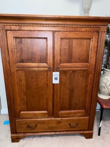 TV armoire - 53 inches tall 41 1/2 wide 23 1/2 deep - E