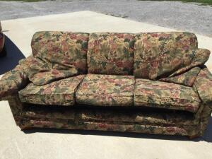 Lazy Boy Sofa bed with pillows