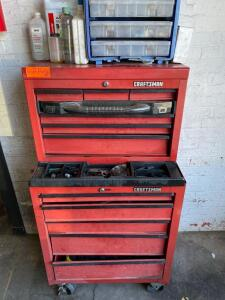 Heavy Duty Rolling Craftsman Toolbox (Tools Not Included, Buyer Responsible for Removal)