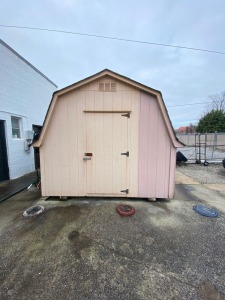 10ft x 16ft Portable Storage Shed by Martin Mini Barns  (Buyer Responsible for Removal)