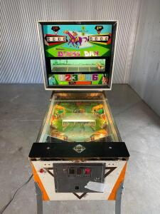 1967 Williams Derby Day Pinball Machine - Preview by appointment only. Please contact Spencer Montgomery 615-785-7136 to set up an appointment