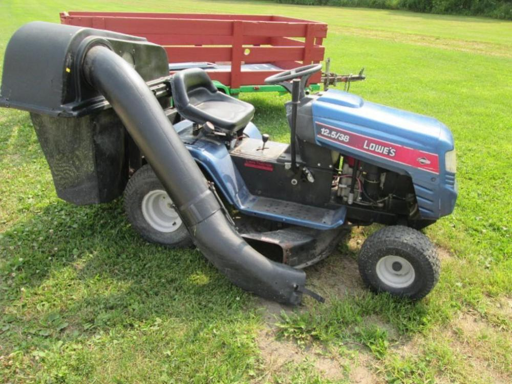 16 Mtd Tractor : Lowes briggs and stratton riding lawn mower with
