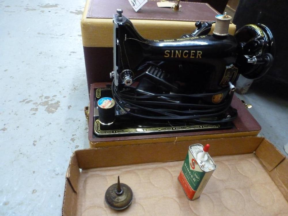 40 Singer 40K 40 Serial EL40 Sewing Machine In Carrying Case Best Singer Sewing Machine 99k Price