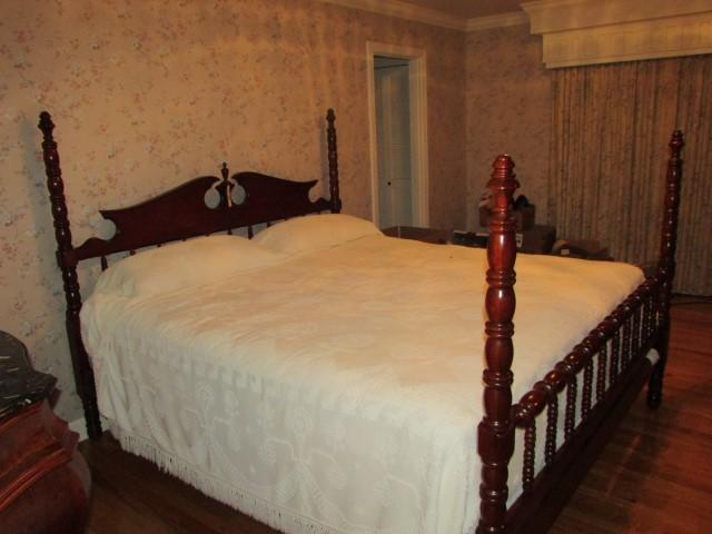Davis Furniture Lillian Russell 4 poster bed - Current price ...