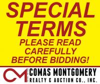 SPECIAL TERMS: Please read carefully!