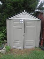 Rubbermaid Outbuilding 8ft x 7ft x 7ft