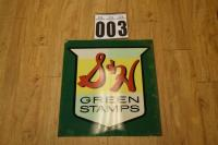 S & H Green Stamps sign M-215, R-3-63