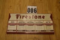 Firestone Sign