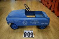 Pedal Car - with citizens Tri co. Bank & Putnam Funeral & Reed Home Inc.