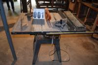 Table saw 10 inch Craftsman