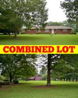 COMBINED LOT: HOUSE LOT 3 BR, 3.5 BA Home on 1.1+/- Acre & Adjoining 1.1+/- Acre Lot with Barn