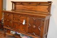 Antique Buffet 51H, 22W, 60L (buffet only, does NOT include contents)