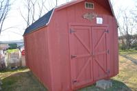 Storage Building 9.6Ft.H, 121 in. W, 163 in. L