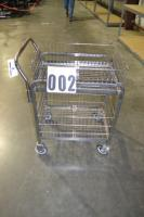 Wire Utility Rolling Cart by Cannon Equipment Model No. FFLG85-0106-000 measures 20x30x36