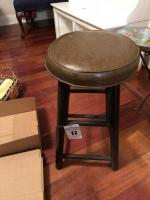 Wooden Stool- H-24""