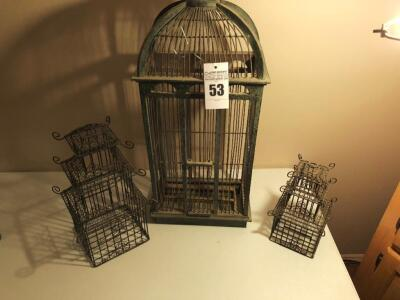Various Decorative Cages