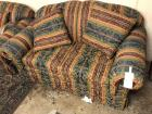 "Cloth Love Seat- 35""T 65""W 35""D"