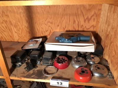 Misc. Car Parts- Assortment of Voltage Regulators, Radiator Cap, Transmission Rebuilding Kit, Etc.