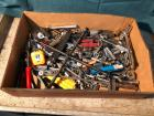 Assortment of Tools- Tape Measure, Tire Iron, Sockets, Etc.