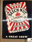 "BEECH-NUT TOBACCO ""A Great Chew"" Sign- 9""x12"""