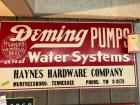 Vintage Haynes Hardware Sign