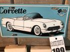 Decorative Corvette License Plate Sign