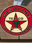 Metal TEXACO Sign- 11""
