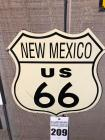 "NEW MEXICO US 66 Sign- 11""x 12"""