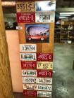 Variety of Decorative License Plates