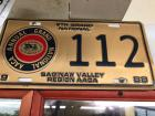 1988 8th Grand National Saginaw Valley Region AACA License Plate