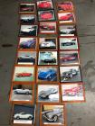 Collection of Various Framed Chevrolet Corvettes Pictures (23)