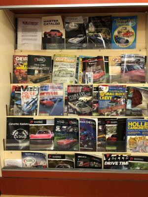 Collection of Corvette Magazines
