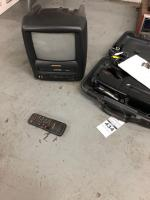 SYLVANIA Tv/ VHS Player w/ QUASAR Camcorder