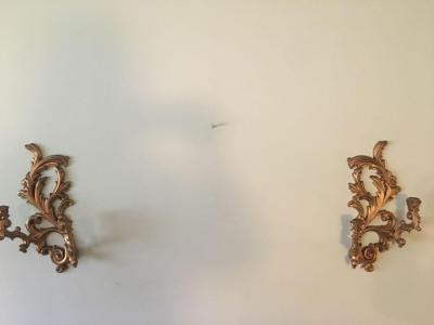 Sconces (Cracks with repairs)