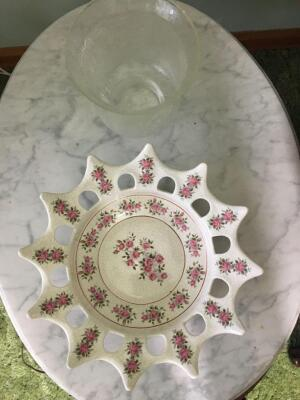 Ceramic serving dish from Spain 1977