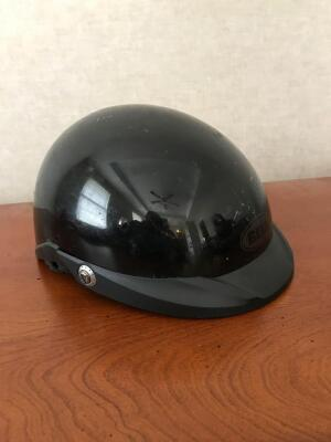 BELL Motorcycle Helmet Size Large, Retractable Glasses