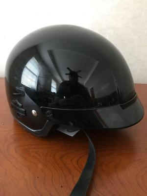 HARLEY DAVIDSON Motorcycle Helmet Size Large, Retractable Glasses