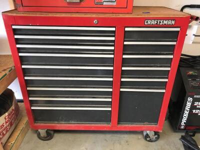 "CRAFTSMAN 15 Drawer Tool Chest 41""T, 41""W, 18""D"