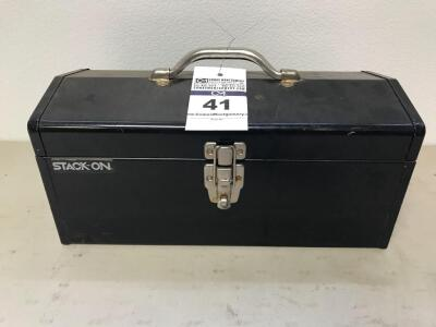 "STACK-ON Tool Box 7""T, 16""W, 7""D"