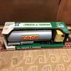ERTL CHEVY TITAN CO-OP Truck and Tanker (In Box)